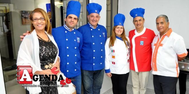 Ponen en servicio en sfm moderna escuela de cocina gourmet for Escuela de cocina