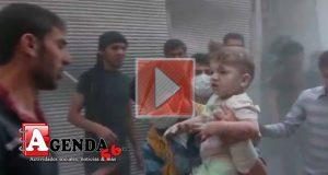 Bombardeo-Alepo