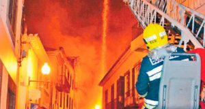 Incendio-Portugal