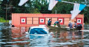 Inundaciones-Luisiana