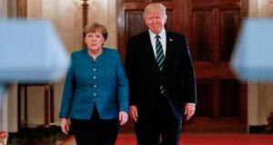Trump-Merkel