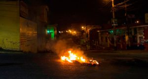 Alcalde-incendiada-Honduras