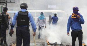 Manfestacion-Honduras
