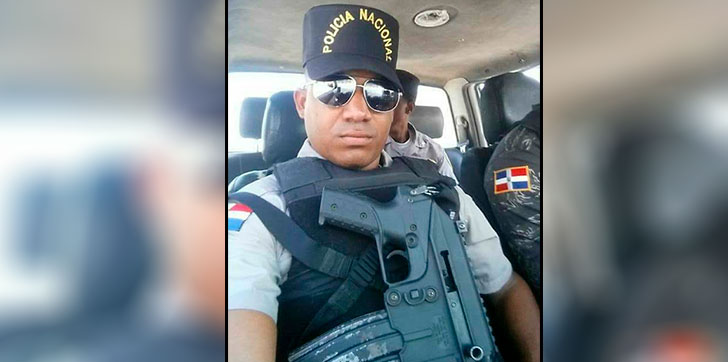 Image result for Sargento abogado de la policia muerto de disparo en la romana