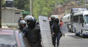 Policias-hondureños