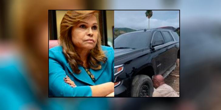 Image result for Senadora Sonia Mateo sale ilesa de accidente en santiago