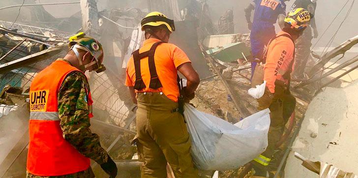 Resultado de imagen para explosión en villas agricolas