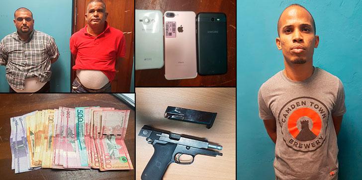 Resultado de imagen para Apresan tres intentaron secuestrar empresario en Cotuí